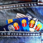 Digital Nomad credit cards for perpetual traveler in Jeans Trousers